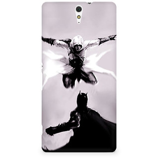 CopyCatz Captain America The Great Defender Premium Printed Case For Sony Xperia C5