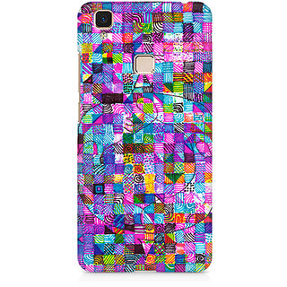 CopyCatz Peace Love Music Premium Printed Case For Vivo V3 Max