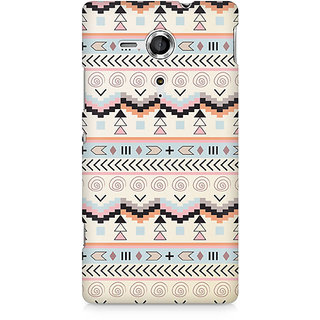 CopyCatz Tribal Chic02 Premium Printed Case For Sony Xperia SP M35H