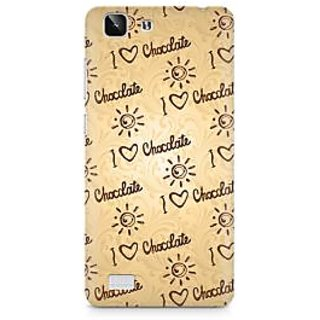 CopyCatz Chocolate Overflow Premium Printed Case For Vivo X5