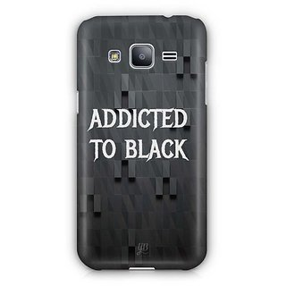 12b910b022801 YuBingo Addicted to Black Designer Mobile Case Back Cover for Samsung  Galaxy J2