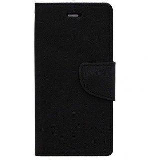 NEW FANCY DIARY WALLET FLIP CASE BACK COVER For Lenovo A7000 BLACK