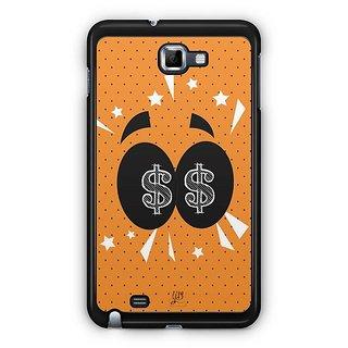 YuBingo Money In My Eyes Designer Mobile Case Back Cover For Samsung Galaxy Note