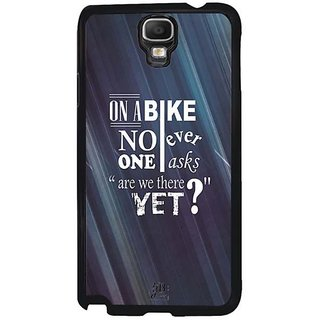 YuBingo Are We There Yet? Designer Mobile Case Back Cover For Samsung Galaxy Note 3 Neo