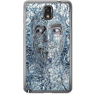 YuBingo Man Covered With Aluminium Foil Designer Mobile Case Back Cover For Samsung Galaxy Note 3