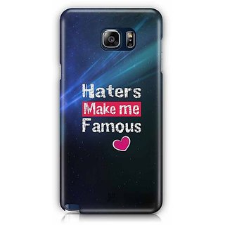YuBingo Haters Make Me Famous Designer Mobile Case Back Cover For Samsung Galaxy Note 5