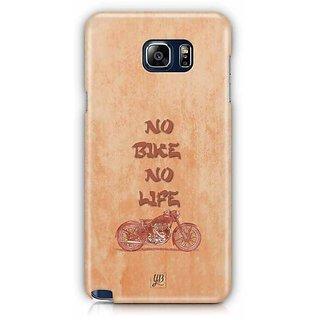 YuBingo No Bike No Life Designer Mobile Case Back Cover For Samsung Galaxy Note 5