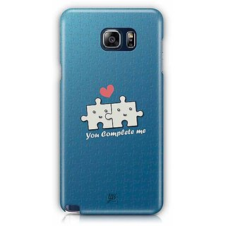 YuBingo You Complete Me Designer Mobile Case Back Cover For Samsung Galaxy Note 5