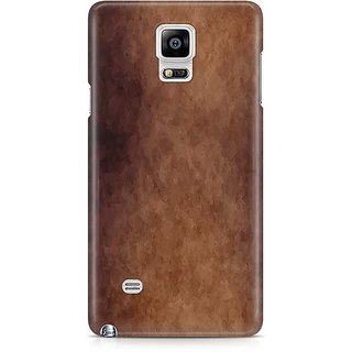 YuBingo Funky Brown Designer Mobile Case Back Cover For Samsung Galaxy Note 4