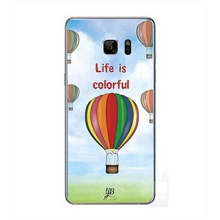 YuBingo Life Is Colorful Designer Mobile Case Back Cover For Samsung Galaxy Note 7