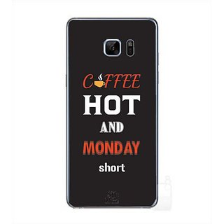 YuBingo Coffee Hot   Monday Short Designer Mobile Case Back Cover For Samsung Galaxy Note 7