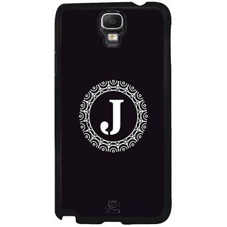 YuBingo Monogram With Beautifully Written Letter J Designer Mobile Case Back Cover For Samsung Galaxy Note 3 Neo