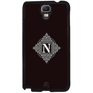 YuBingo Monogram With Beautifully Written Letter N Designer Mobile Case Back Cover For Samsung Galaxy Note 3 Neo