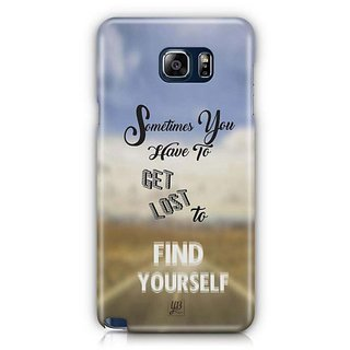 YuBingo Get Lost To Find Yourself Designer Mobile Case Back Cover For Samsung Galaxy Note 5