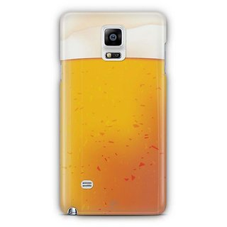 YuBingo Beer Glass Designer Mobile Case Back Cover For Samsung Galaxy Note 4
