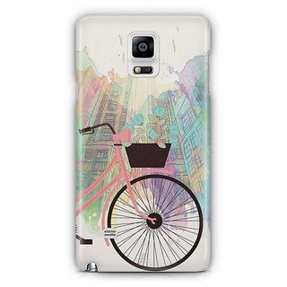 YuBingo Bicycle On High Street Designer Mobile Case Back Cover For Samsung Galaxy Note 4