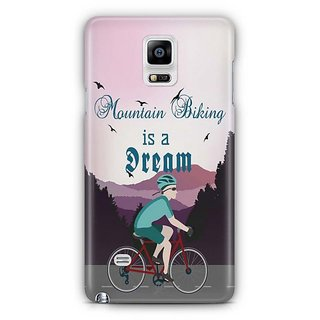 YuBingo Mountain Biking Is A Dream Designer Mobile Case Back Cover For Samsung Galaxy Note 4