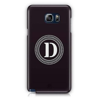 YuBingo Monogram With Beautifully Written Letter D Designer Mobile Case Back Cover For Samsung Galaxy Note 5