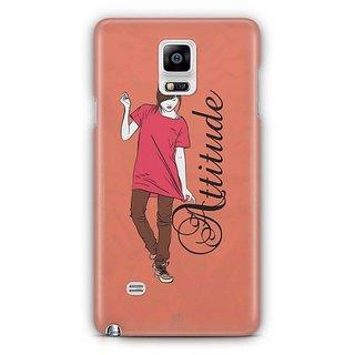 YuBingo Girl With An Smart Attitude Designer Mobile Case Back Cover For Samsung Galaxy Note 4