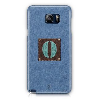 YuBingo Monogram With Beautifully Written Jeans And Macho Male Leather Finish Letter O Designer Mobile Case Back Cover For Samsung Galaxy Note 5