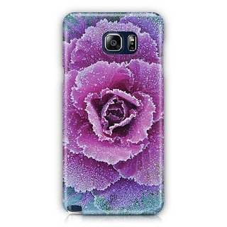 YuBingo Pink Flower Designer Mobile Case Back Cover For Samsung Galaxy Note 5