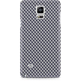 YuBingo Black Arrow Pattern Designer Mobile Case Back Cover For Samsung Galaxy Note 4