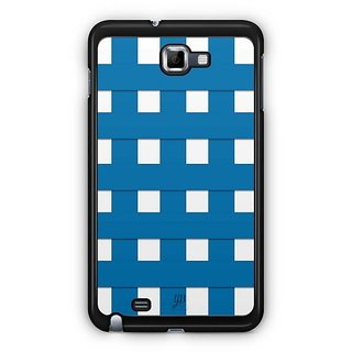 YuBingo Blue Square Pattern Designer Mobile Case Back Cover For Samsung Galaxy Note