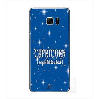 YuBingo Capricorn (Sophisticated) Designer Mobile Case Back Cover For Samsung Galaxy Note 7