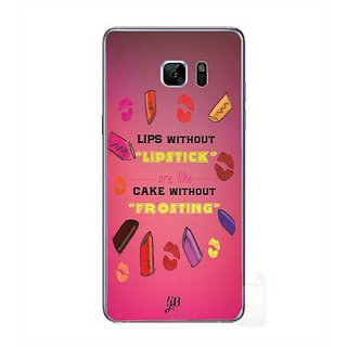 YuBingo Lips Without Lipstick Are Like Cake Without Frosting Designer Mobile Case Back Cover For Samsung Galaxy Note 7
