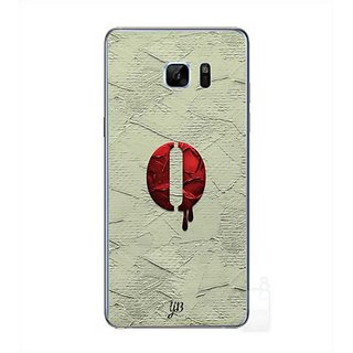 YuBingo Monogram With Beautifully Written Paint Finish Letter O Designer Mobile Case Back Cover For Samsung Galaxy Note 7