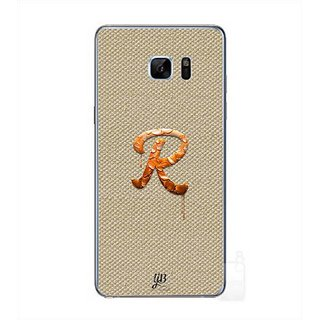 YuBingo Monogram With Beautifully Written Paint Finish Letter R Designer Mobile Case Back Cover For Samsung Galaxy Note 7