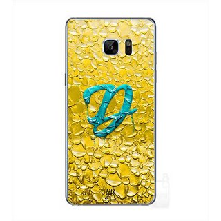 YuBingo Monogram With Beautifully Written Funky Colourful Paint Finish Letter D Designer Mobile Case Back Cover For Samsung Galaxy Note 7