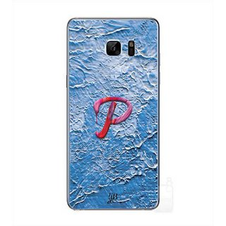 YuBingo Monogram With Beautifully Written Funky Colourful Paint Finish Letter P Designer Mobile Case Back Cover For Samsung Galaxy Note 7
