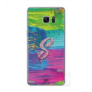 YuBingo Monogram With Beautifully Written Funky Colourful Paint Finish Letter S Designer Mobile Case Back Cover For Samsung Galaxy Note 7