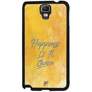 YuBingo Happiness Is A Choice Designer Mobile Case Back Cover For Samsung Galaxy Note 3 Neo