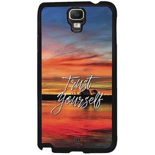 YuBingo Trust Yourself Designer Mobile Case Back Cover For Samsung Galaxy Note 3 Neo