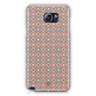 YuBingo Square Patterns Designer Mobile Case Back Cover For Samsung Galaxy Note 5