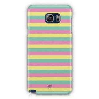YuBingo Colourful Stripes Designer Mobile Case Back Cover For Samsung Galaxy Note 5