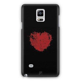 YuBingo Heart Designer Mobile Case Back Cover For Samsung Galaxy Note 4