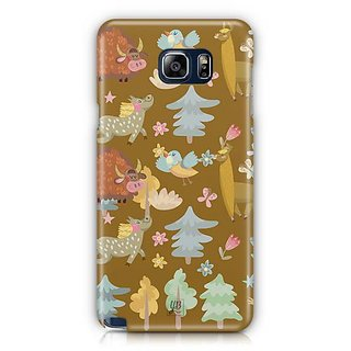 YuBingo Animals And Birds Designer Mobile Case Back Cover For Samsung Galaxy Note 5