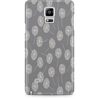 YuBingo White Cotton Balls Designer Mobile Case Back Cover For Samsung Galaxy Note 4