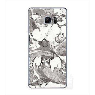 YuBingo Marble Finish (Plastic) Designer Mobile Case Back Cover For Samsung Galaxy Note 7
