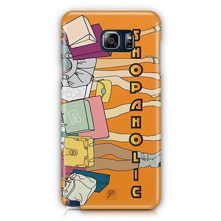 YuBingo Shopaholic Designer Mobile Case Back Cover For Samsung Galaxy Note 5