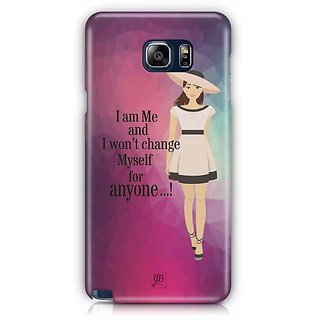 YuBingo I Am Me And I Won'T Change Myself For Someone Designer Mobile Case Back Cover For Samsung Galaxy Note 5