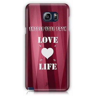YuBingo Choose Your Path, Love Life Designer Mobile Case Back Cover For Samsung Galaxy Note 5