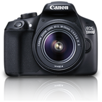 Canon EOS 1300D Kit (EF S18-55 IS II Lens) With 16 GB Card,Carry Case (2 Yrs Warranty)-Smartmate 5200 MAh Powerbank Free