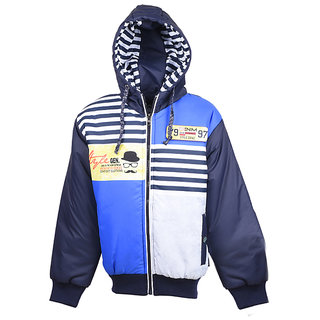 MSG Navy Full Sleeve Jacket For boy's Kids