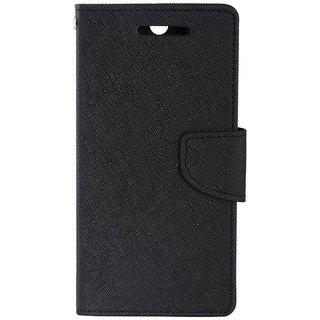 Samsung Galaxy A8 Mercury Flip Cover By Sami - Black