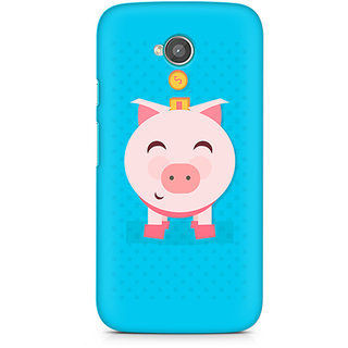CopyCatz Pig Money Premium Printed Case For Moto E2