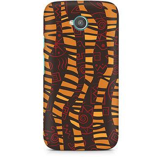 CopyCatz Cheetah Tribal Wave Premium Printed Case For Moto E2